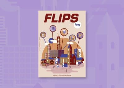 Flips Cover 2016 - Illustration
