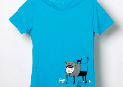 Katzenmann T-Shirt - Illustration